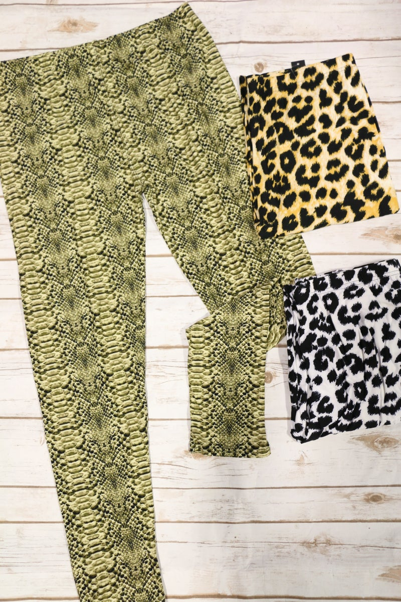 Bring Me To Life Extra Curvy Leggings In Multiple Prints - Sizes 20-30