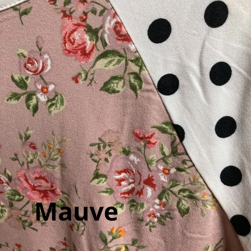 Light of My Life Polka Dot Short Sleeve Top in Multiple Colors - Sizes 4-20