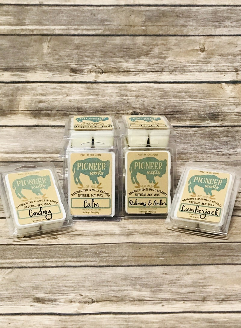 All Natural Soy Wax Melts in Multiple Scents