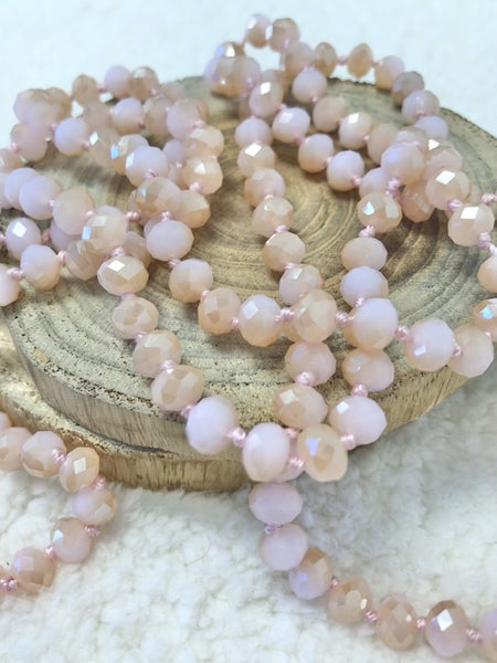 Sherbet Point Of Perfection Beaded Necklace