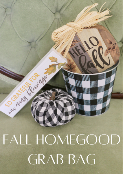 Fall Home good Grab Bag
