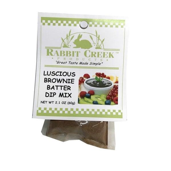 Luscious Brownie Batter Dip Mix