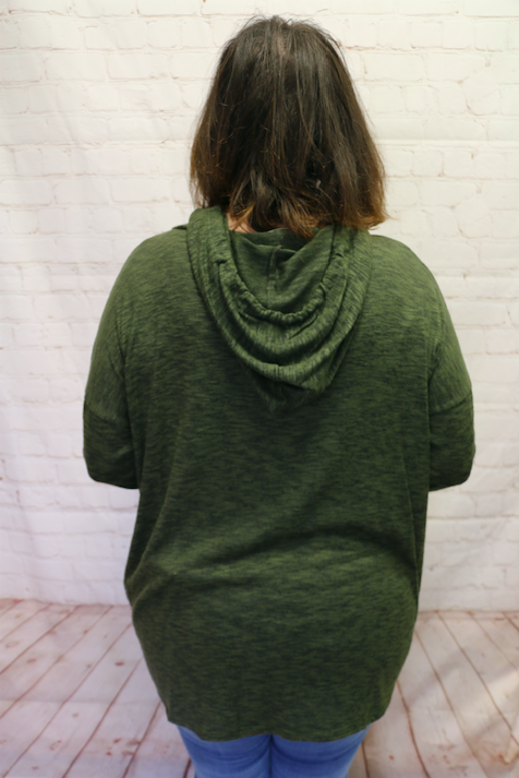 All My love Olive Super Soft Hoodie- Sizes 4-10