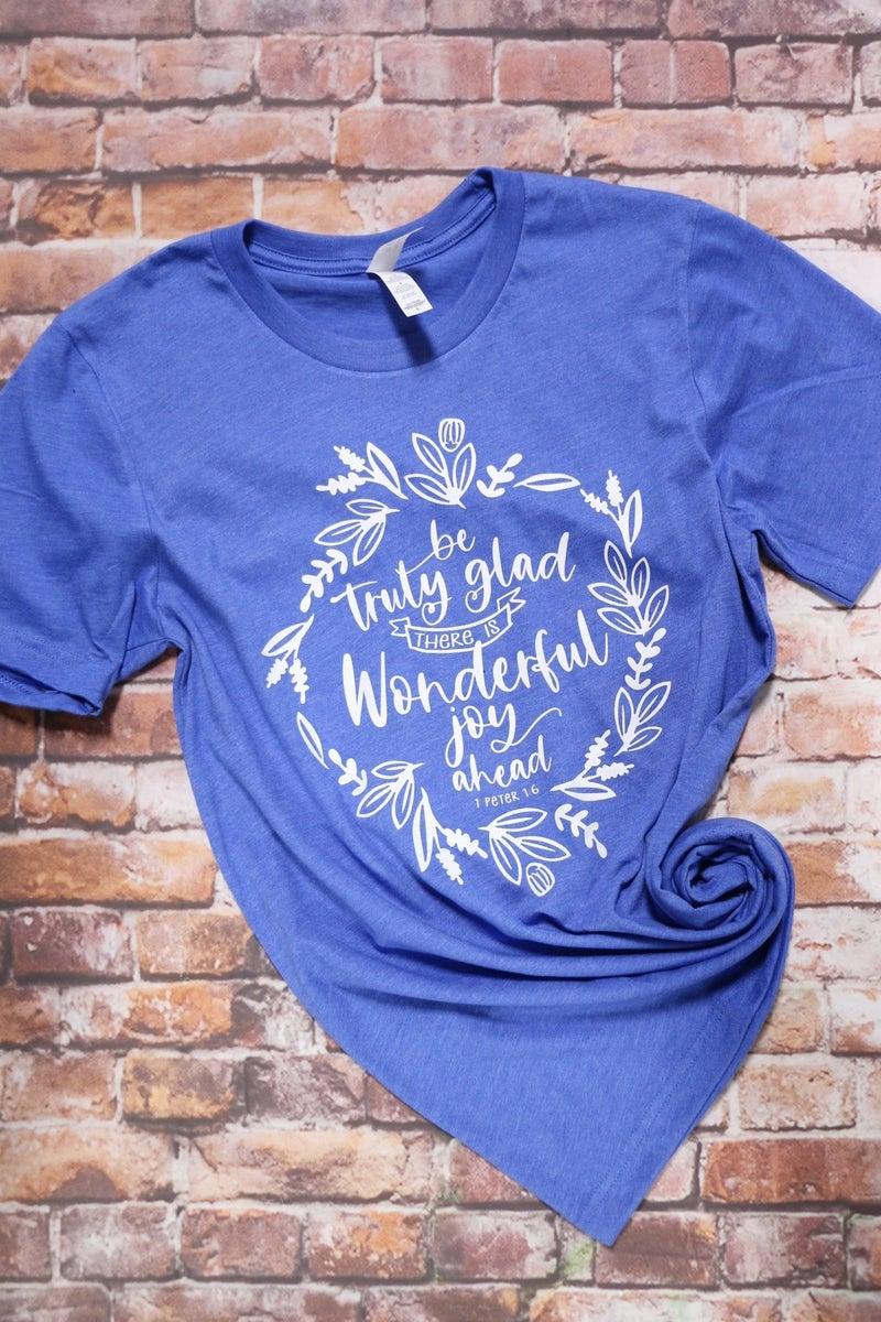 Wonderful Joy Ahead January T-Shirt of the Month - Sizes 4-20