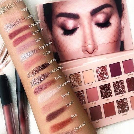 Glitter Nude Eye Shadow Palette