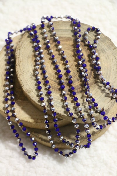 Thunder And Lightening Mini Point Of Perfection Beaded Necklace