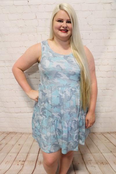 Why So Feisty Camo Tunic/Dress ~ Sizes 4-12