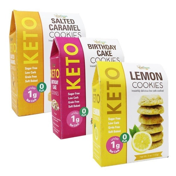 **LIMITED EDITION** Spring Keto Cookies in Multiple Flavors