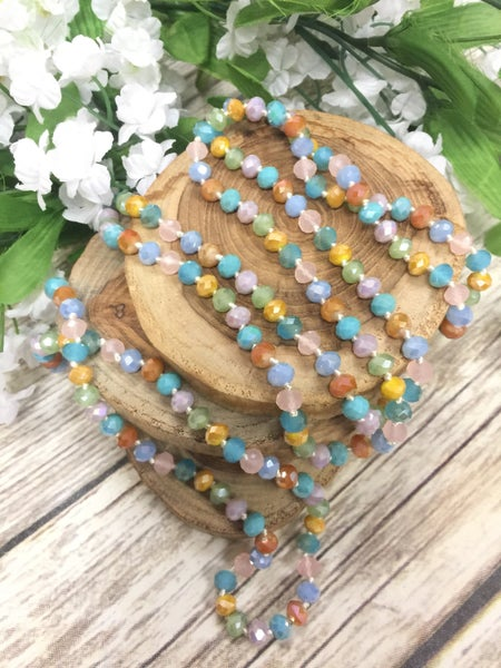 Meadow Point Of Perfection Beaded Necklace