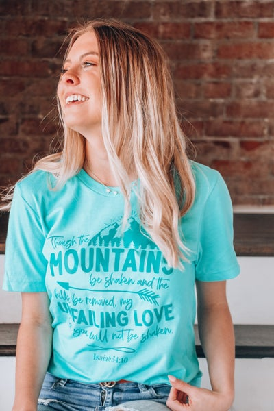 Unfailing Love March T-shirt Of The Month - Sizes 4-20
