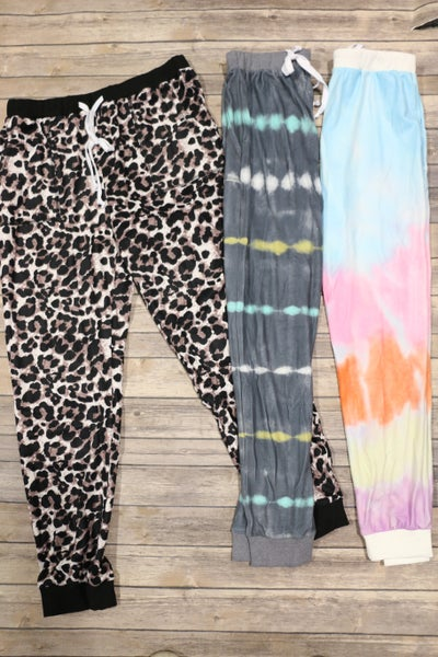 Cute & Comfy Super Soft Joggers in Multiple Prints - Sizes 4-12
