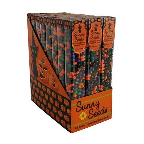 Halloween Themed Chocolate Covered Sunflower Seeds *Final Sale*