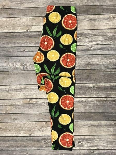 Get Fruity Citrus Legging - Sizes 4-20