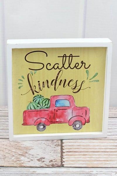Scatter Kindness Framed Wall Art