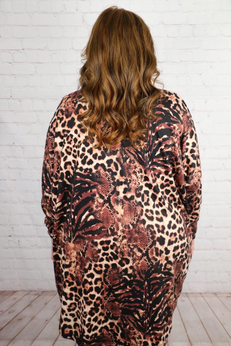 Living A Dream Leopard Cardigan - Sizes 12-20