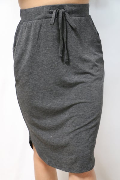 Always on the Go Scoop Hem Skirt in Multiple Colors - Sizes 4-12