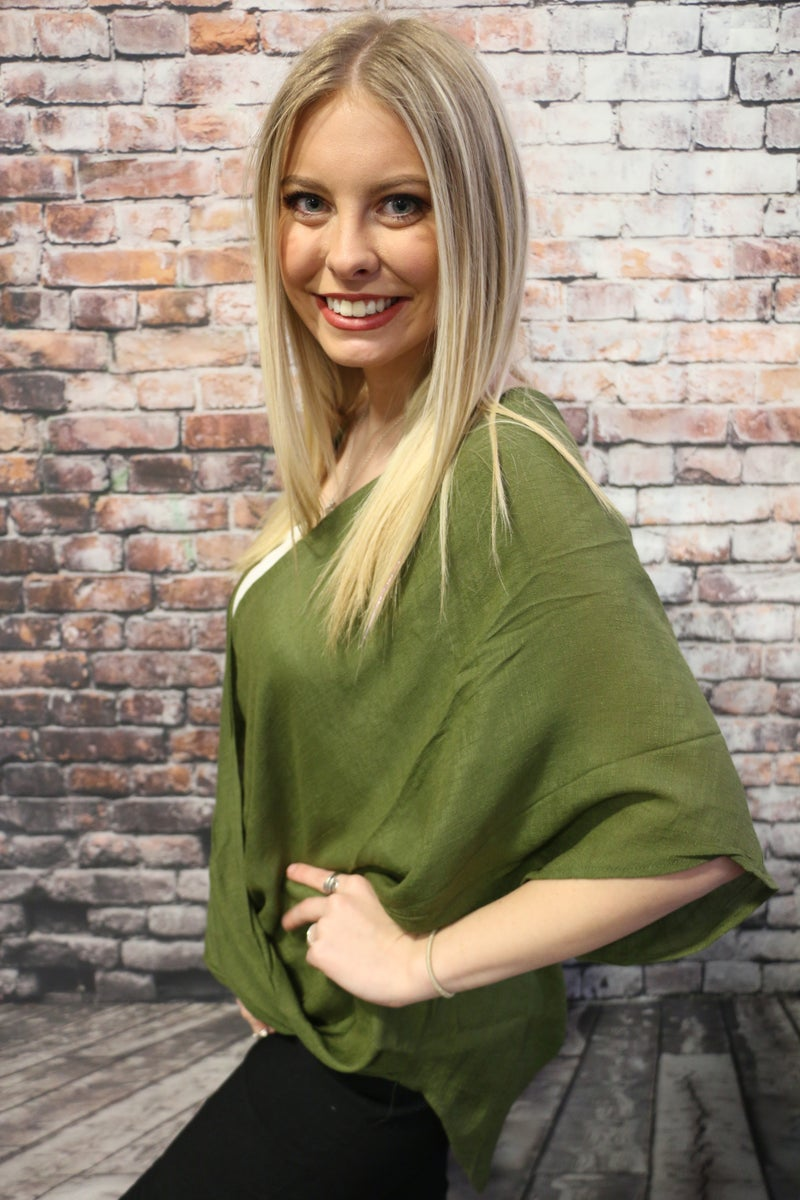 Dreaming Of You Surplice Blouse in Multiple Colors -Sizes 4-20