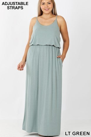Where Ever You Go Maxi Dress in Multiple Colors - Sizes 4 - 20