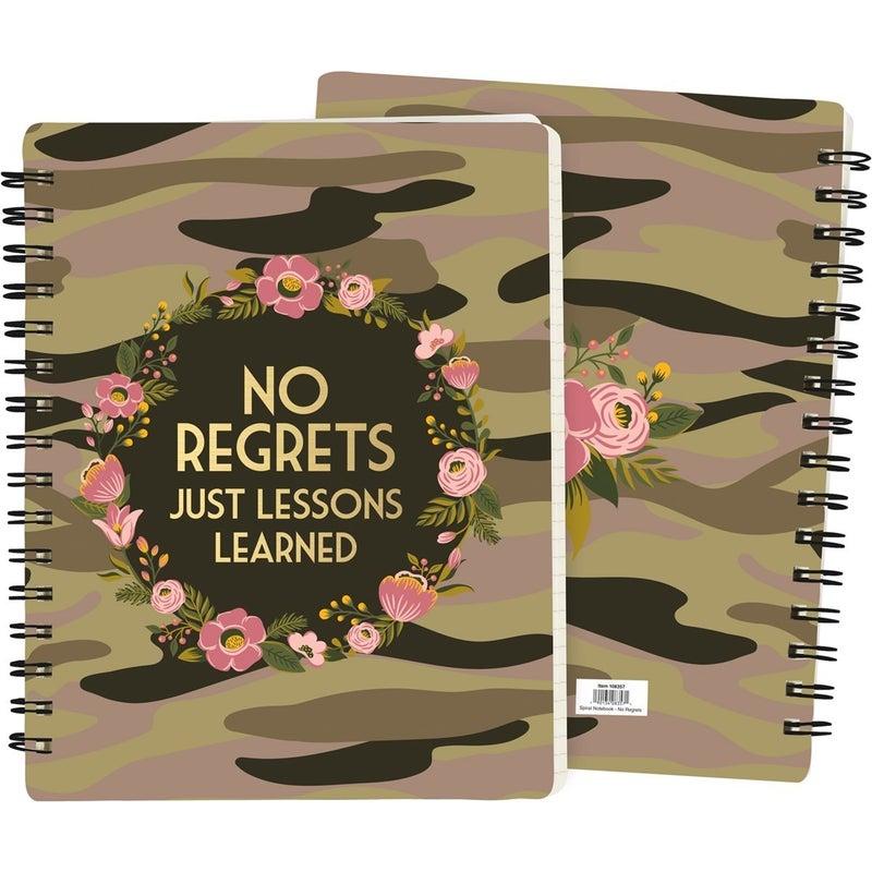 Fun & Inspirational Spiral Bond Notebooks in Multiple Prints