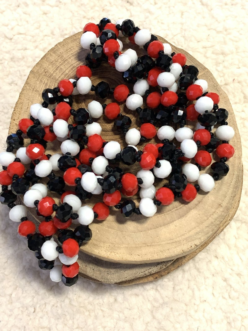 Ladybug Point Of Perfection Beaded Necklace