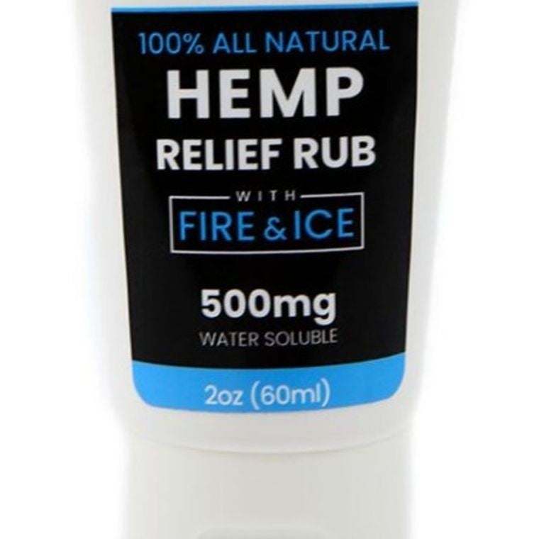 Hemp Pain Cream Fire & Ice