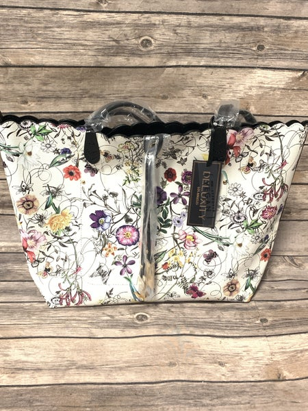 Feeling Floral 3 Piece Floral Purse Set In Multiple Colors
