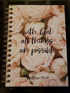 With God All Things Are Possible Lined Journal