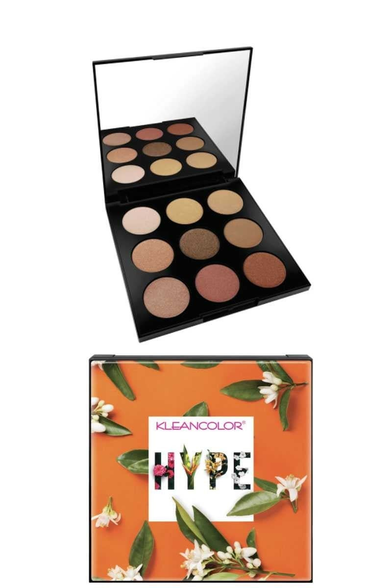 They Hype Glow Face Blush and Highlighter Palette