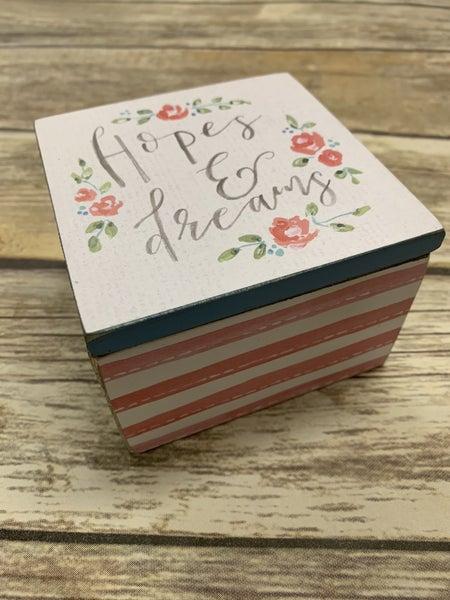 Hope And Dreams Hinged Box