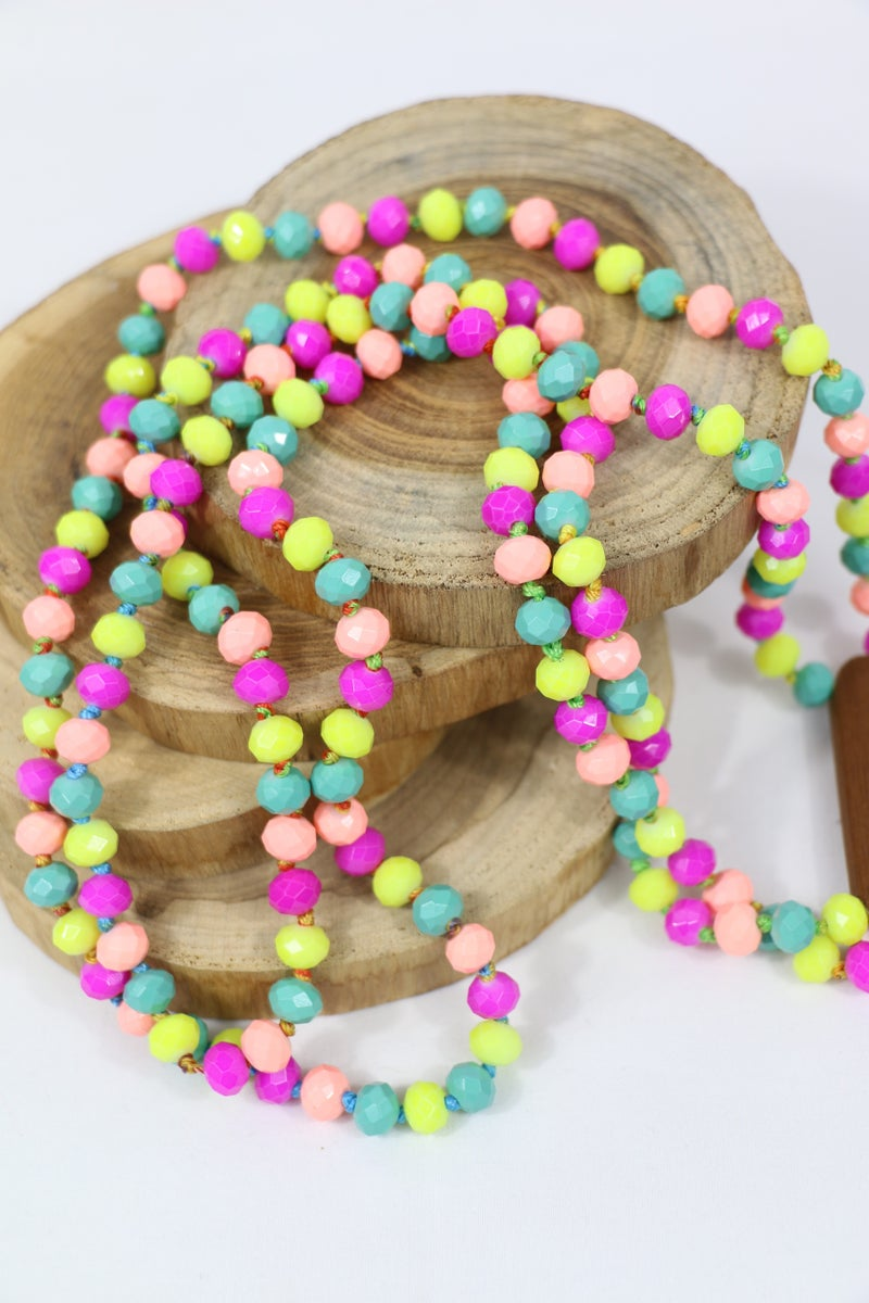 Flower Power Point Of Perfection Beaded Necklace