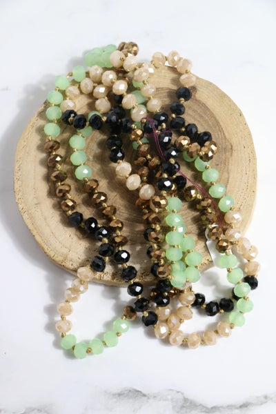Swamp Monster Point of Perfection Beaded Necklace