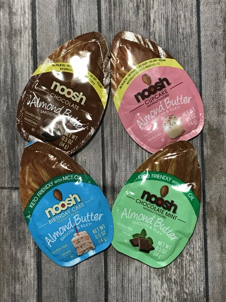 Noosh Smooth & Silky Almond Butter ~ 0.5 oz. Packets *Final Sale*