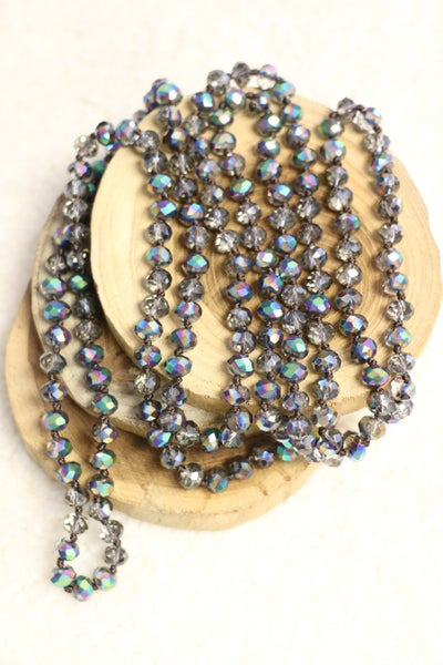 Point Of Perfection Beaded Necklace In Fish Scales