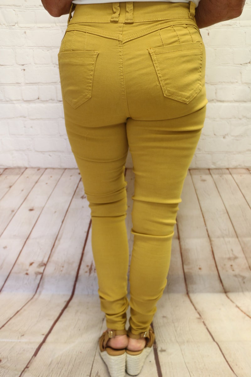 Kick Your Shoes Off Skinny Jegging in Multiple Colors - Sizes 4-18