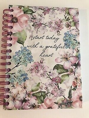 Start Today with a Grateful Heart Lined Spiralbound Journal