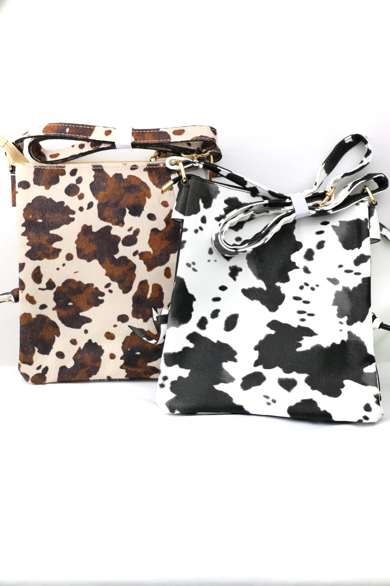 Till The Cows Come Home Crossbody With Side Zippers In Multiple Colors