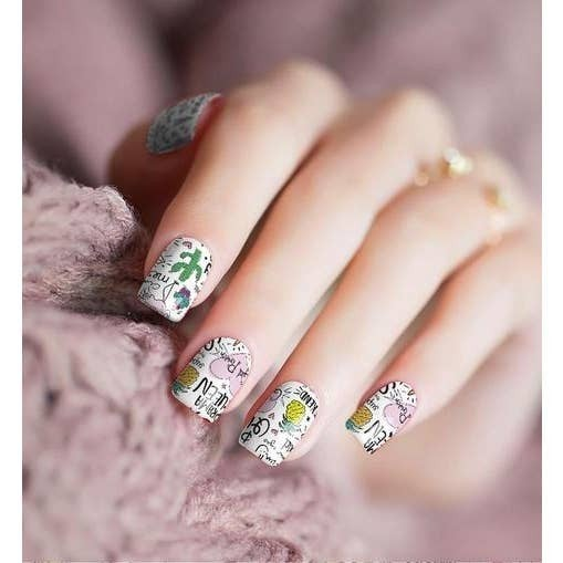 Nail Polish Stickers in Pattern Prints *Final Sale*