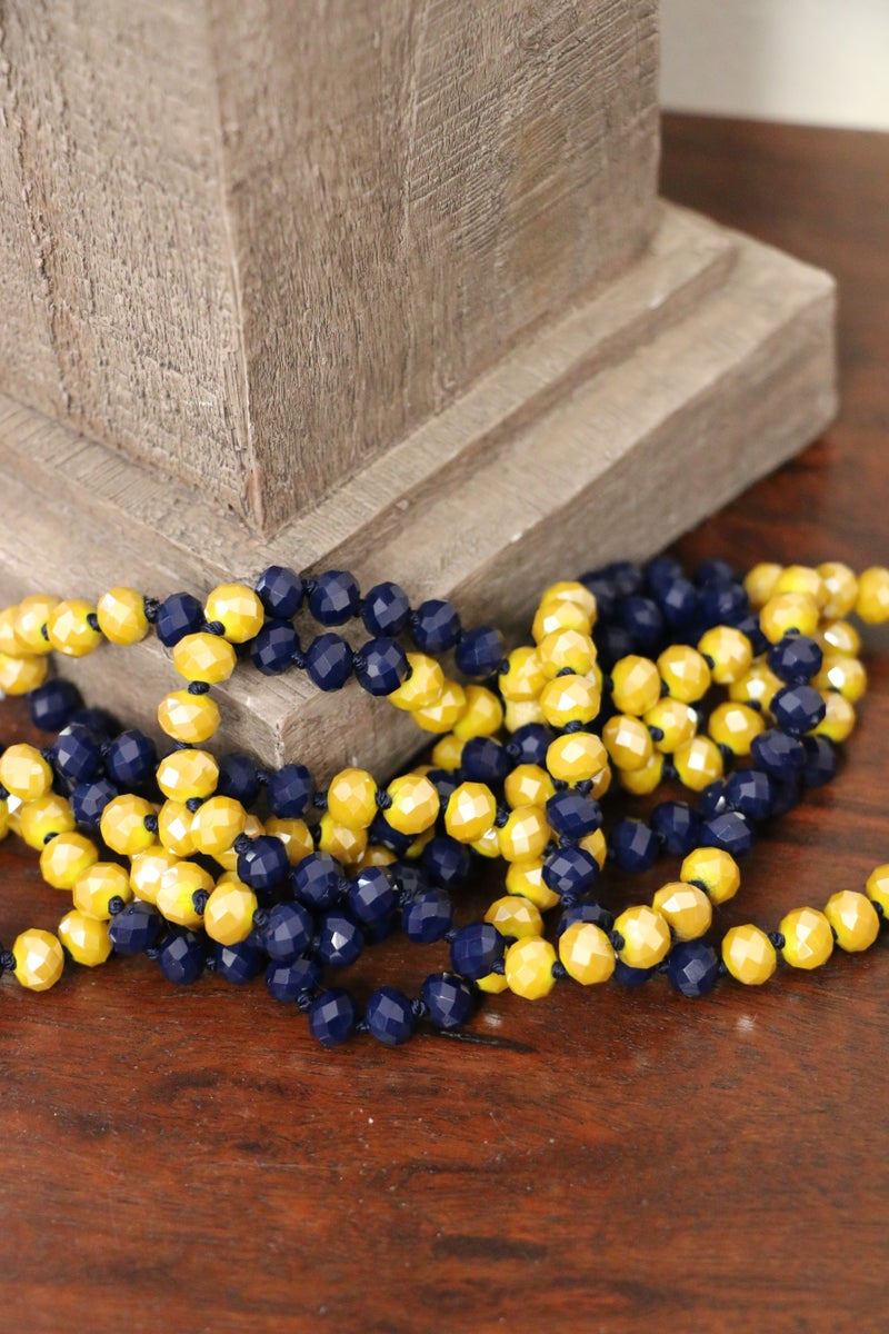 Starry Night Point Of Perfection Beaded Necklace