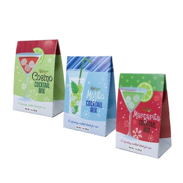 Fun Cocktail Mix Gift boxes in Multiple Flavors