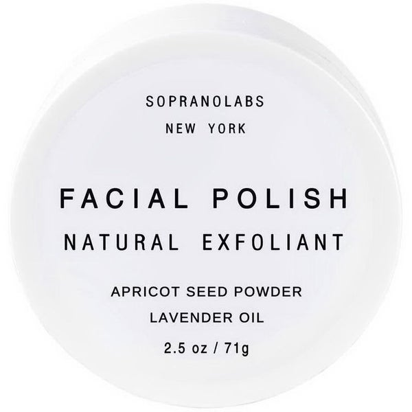 Facial Polish Natural Exfoliant In Apricot Seed & Lavender