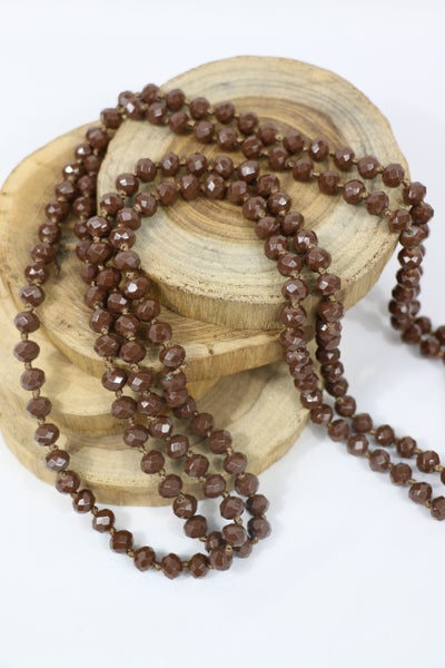Americano Point Of Perfection Beaded Necklace