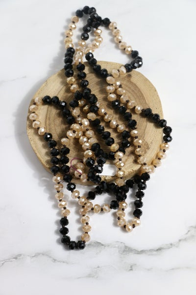 Flapper Girl Beaded Point of Perfection Necklace