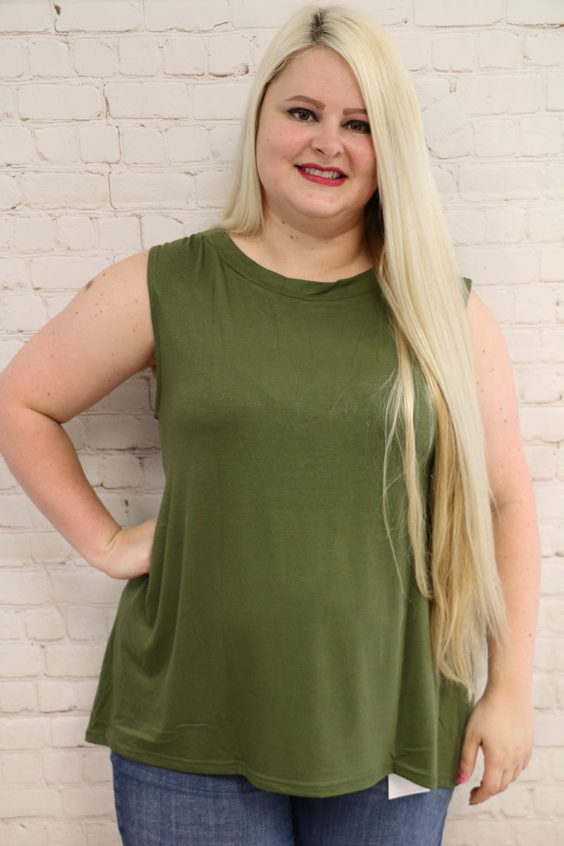 When In Doubt High Low Basic In Multiple Colors  Sizes - 4-20 *Final Sale*