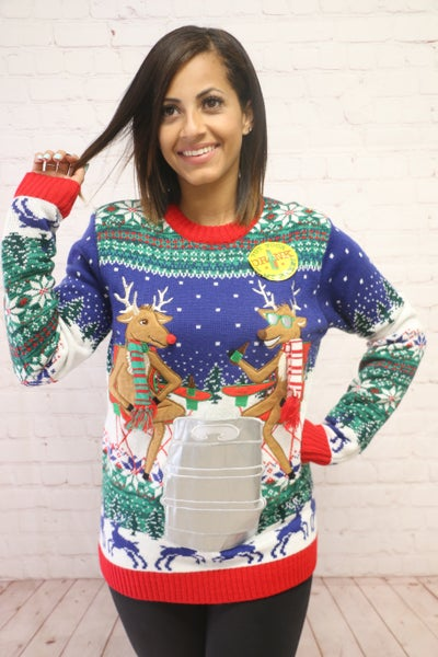 Cutest Ugly Christmas Sweaters Ever in Multiple Prints - Sizes 4-12