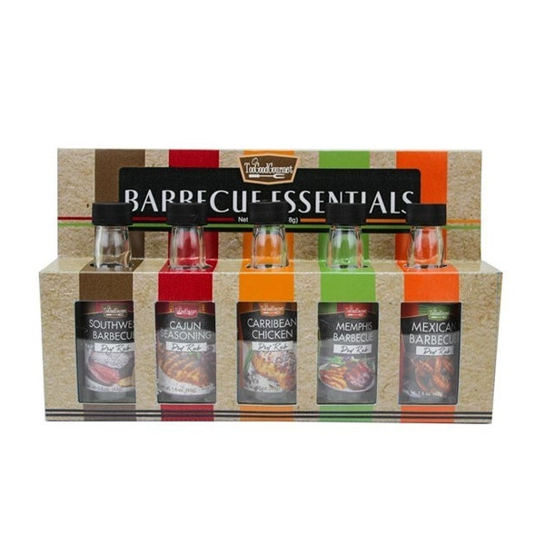 BBQ Essentials Seasoning Rub Set