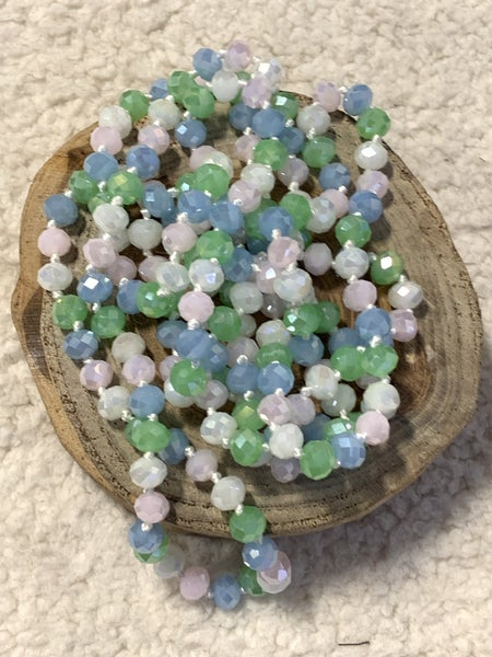 Easter Egg Point Of Perfection Beaded Necklace