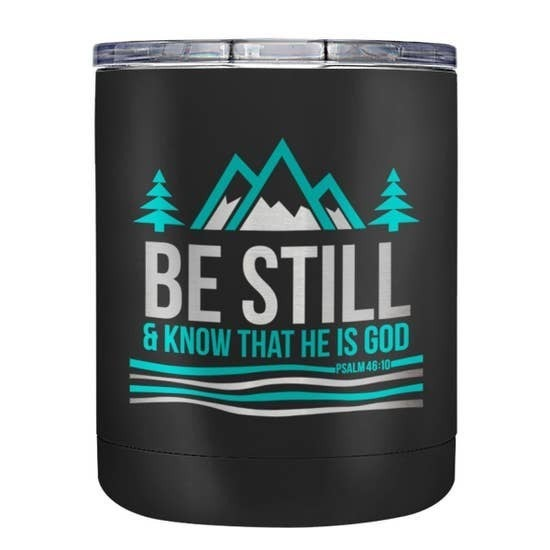 Be Still Stainless Steel Mug