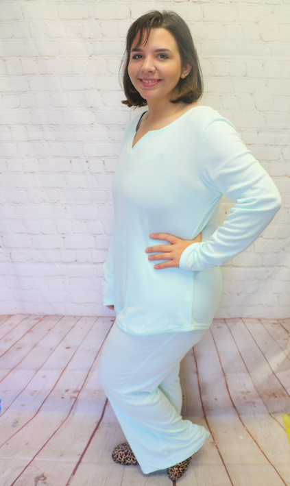 Need You Close Super Soft Long Sleeve and Pant Pajama Set in Multiple Colors - Sizes 4-18