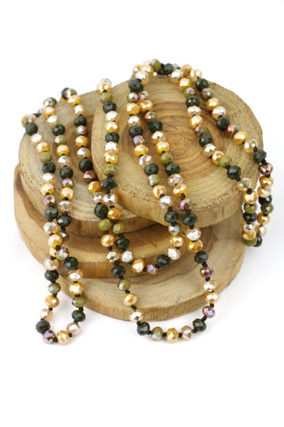 Into The Woods Point of Perfection Beaded Necklace