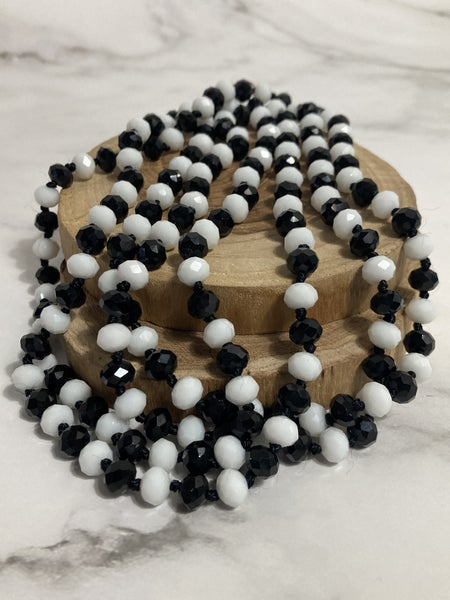 Referee Point of Perfection Beaded Necklace